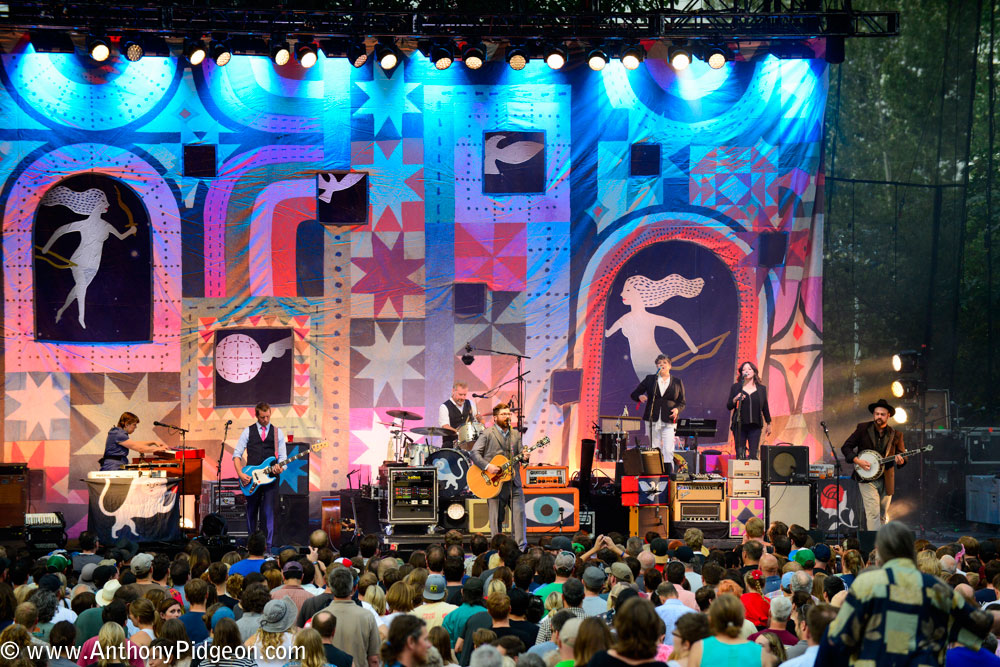 The Decemberists, Jenny Conlee, Edgefield, photo by Anthony Pidgeon