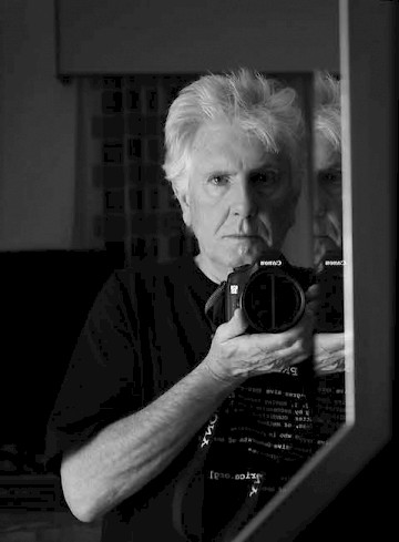 Recent self-portrait of Graham Nash