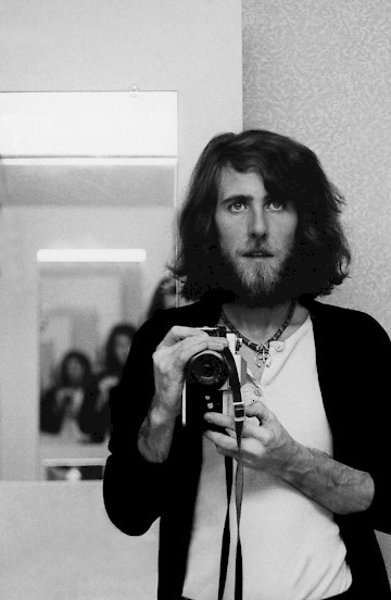 Graham Nash self-portrait, 1974