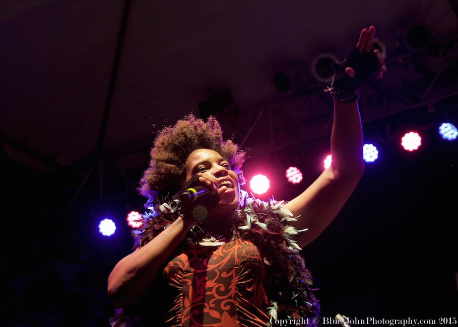 Galactic, Macy Gray, Waterfront Blues Festival, Tom McCall Waterfront Park, photo by John Alcala