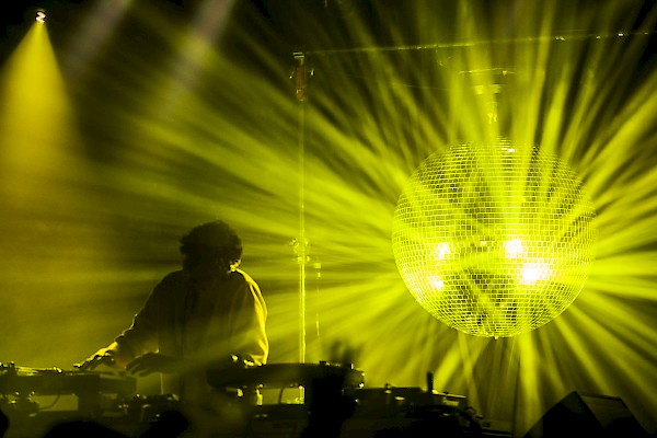 Jamie xx at the Wonder Ballroom—click to see more photos by Sam Gehrke