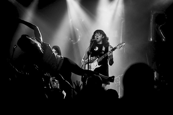La Luz supports your stage diving habit—click to see a whole gallery of photos by Sam Gehrke
