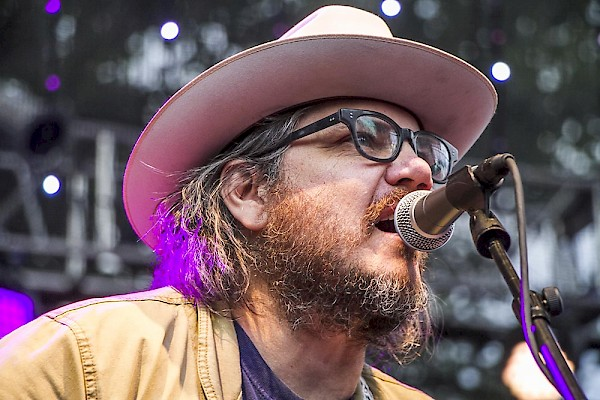 Wilco frontman Jeff Tweedy at McMenamins' Edgefield Concerts on the Lawn on Sunday, August 9—click to see a whole gallery of photos by Emma Browne