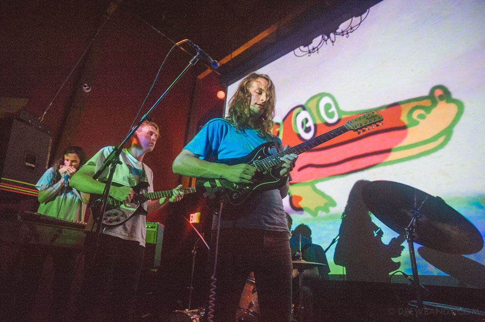 King Gizzard & The Lizard Wizard, Mississippi Studios, photo by Drew Bandy