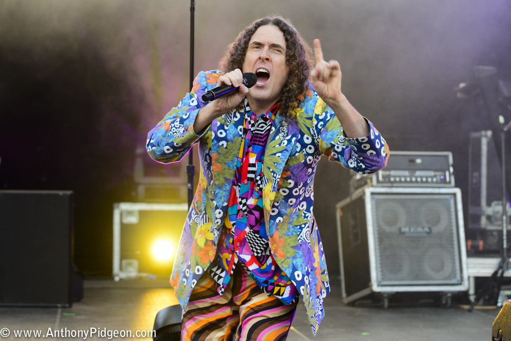 """Weird Al"" Yankovic, Oregon Zoo Amphitheatre, photo by Anthony Pidgeon"