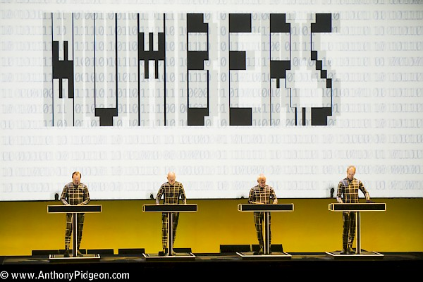 Click to see more photos by Anthony Pidgeon of Kraftwerk at the Keller Auditorium
