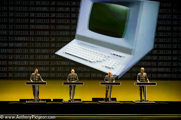 Kraftwerk at the Keller Auditorium on September 19, 2015—click to see an entire gallery of photos by Anthony Pidgeon