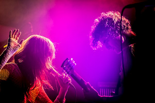 Blonde Redhead at the Wonder Ballroom on September 19—click to see an entire gallery of photos by Sam Gehrke