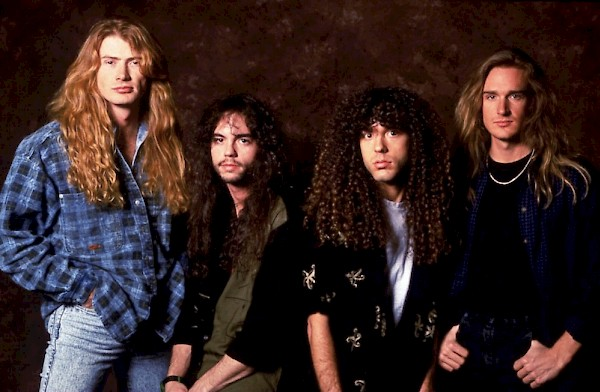 Friedman with Megadeth in the '90s