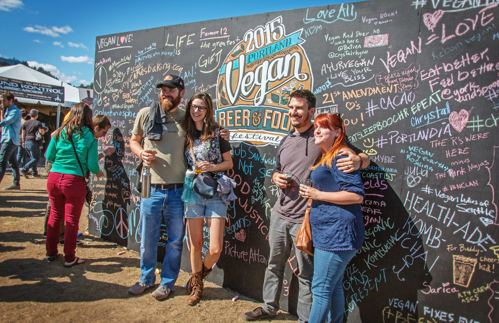 Vegan Beer & Food Festival, Zidell Yards, photo by Autumn Andel