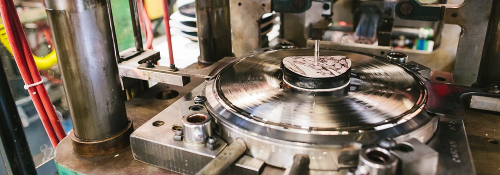Cascade Record Pressing, photo by Jason Quigley