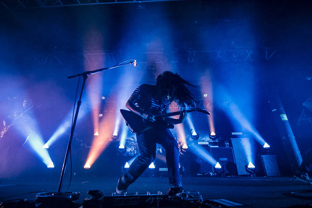 Coheed and Cambria, Roseland Theater, photo by Corey Terrill
