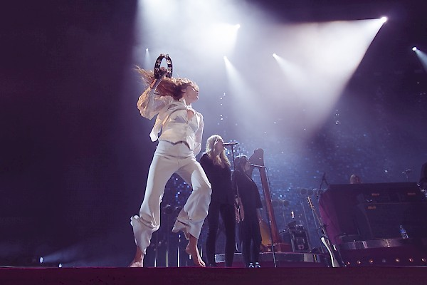 Florence and the Machine—click to see a whole gallery of photos by Corey Terrill