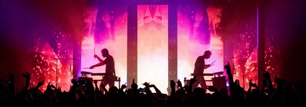 ODESZA, Roseland Theater, photo by Kai Hayashi