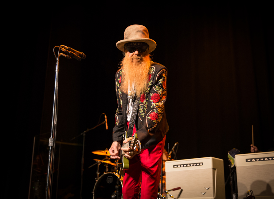 Billy Gibbons, Revolution Hall, photo by Alyssa Herrman