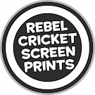 Rebel Cricket Screen Prints