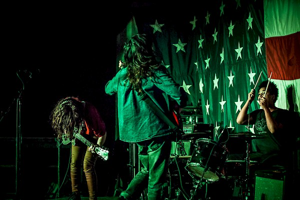 The Ghost Ease at CMJ Music Marathon 2015 in NYC—click to see more photos by Sam Gehrke