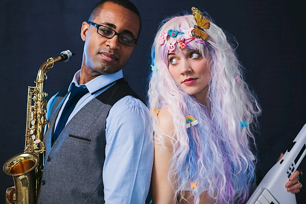 Two faces of Portland jazz: Christopher Brown and Coco Columbia