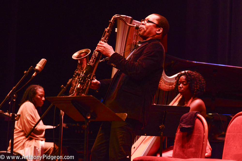 Ravi Coltrane, PDX Jazz Festival, photo by Anthony Pidgeon