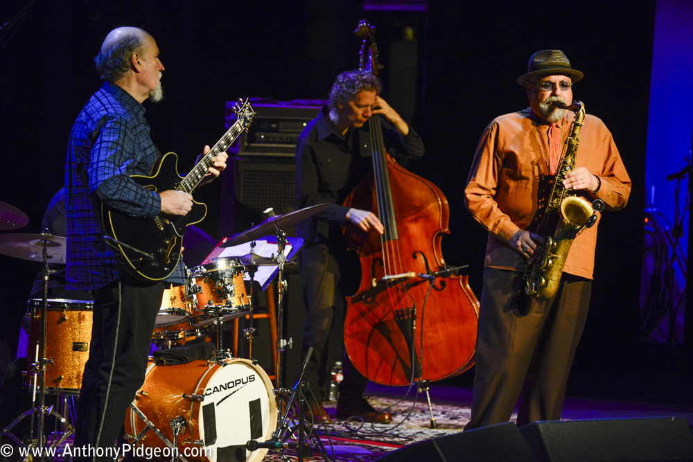Joe Lovano, John Scofield, PDX Jazz Festival, Revolution Hall, PDX Jazz, photo by Anthony Pidgeon