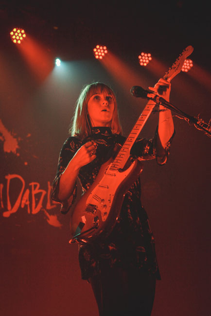 The Joy Formidable, Wonder Ballroom, photo by Tojo Andrianarivo