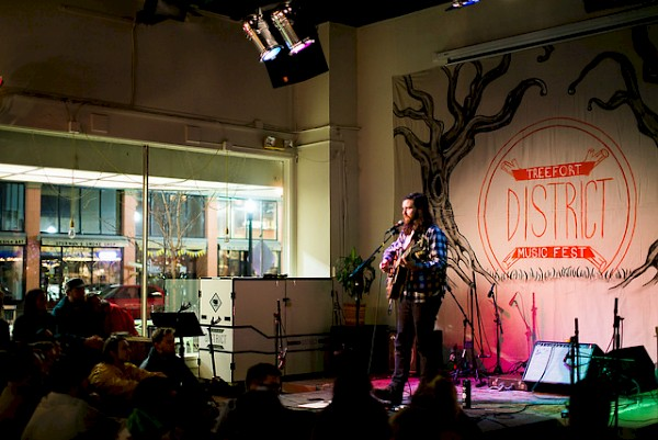 Bryan John Appleby at Boise's District Coffee House: Photo by Maggie Mattinson