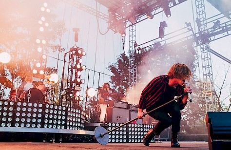 Cage The Elephant, Edgefield, photo by Veronica Rose