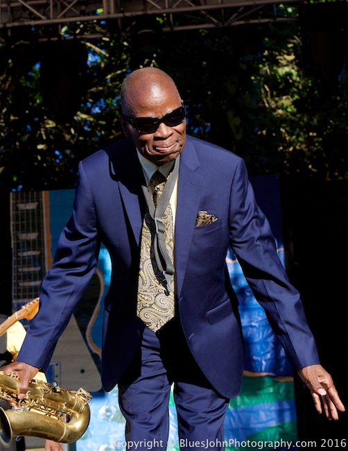 Maceo Parker, Waterfront Blues Festival, Tom McCall Waterfront Park, photo by John Alcala