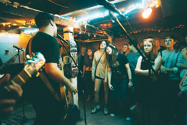 Scrambling to find a venue last mintue, teenage booker Delaney Motter organized a five-band bill (featuring Get Married) at the SW Portland basement space The Leak on July 10—click to read the story of Trevor Will's shot