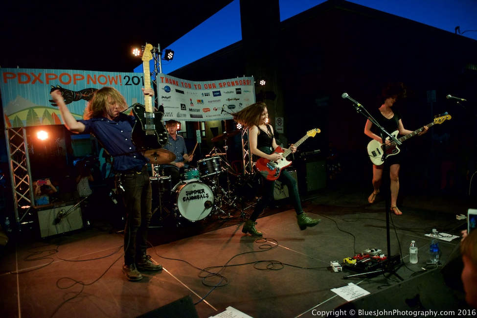 Summer Cannibals, PDX Pop Now!, AudioCinema, photo by John Alcala
