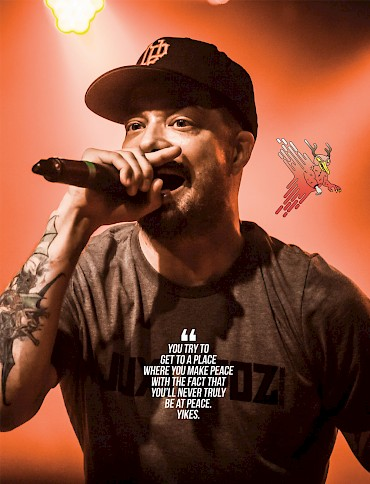 Click to see more photos by Sam Gehrke of Aesop Rock at the Wonder Ballroom in May