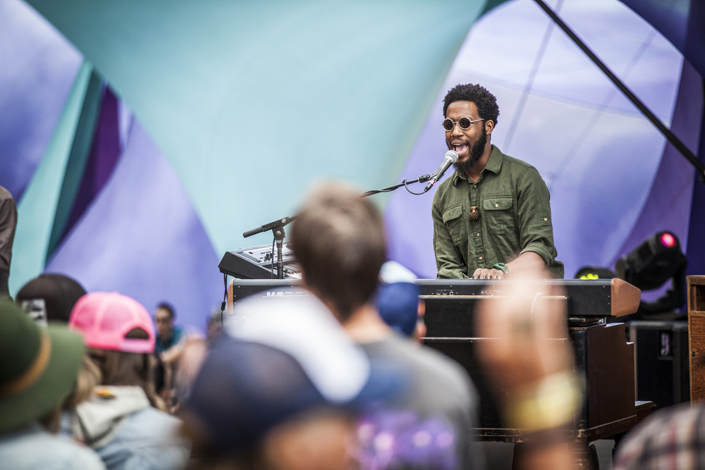 Cory Henry, Pickathon, Pendarvis Farm, photo by Sam Gehrke