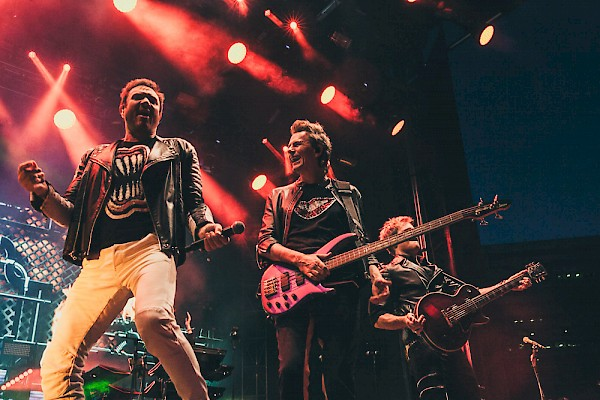 Duran Duran dancing it up at MusicfestNW presents Project Pabst on August 27: Photo by Tojo Andrianarivo—click to see more