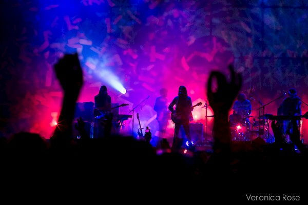 Tame Impala taking flight at this year's MusicfestNW presents Project Pabst in August—click to see more photo by Veronica Rose and Sam Gehrke