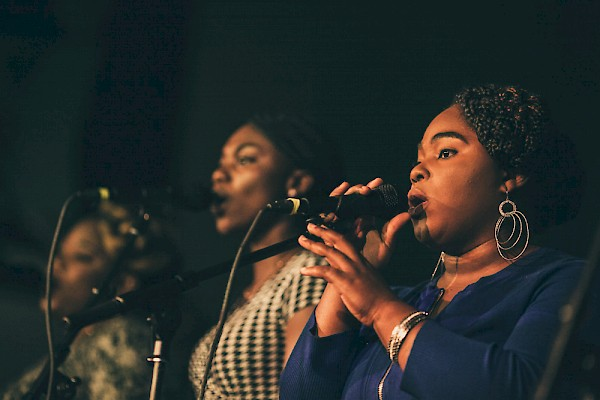 A scene from the inaugural Portland Black Music Festival at the Mission Theater in September 2016—click to see more photos by Tojo Andrianarivo