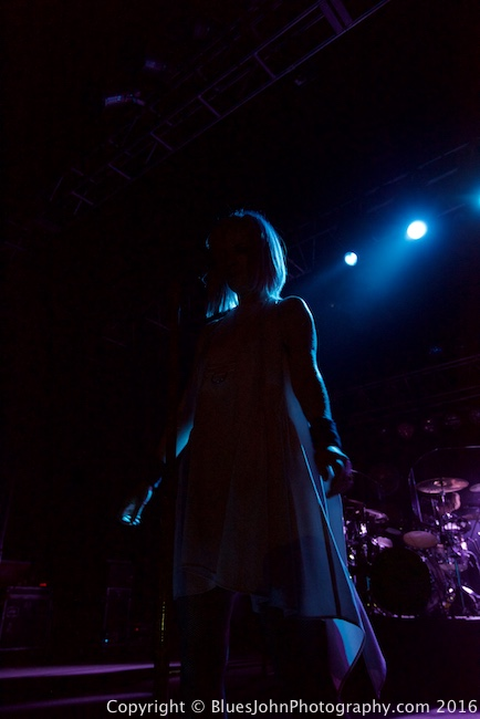 Garbage, Roseland Theater, photo by John Alcala