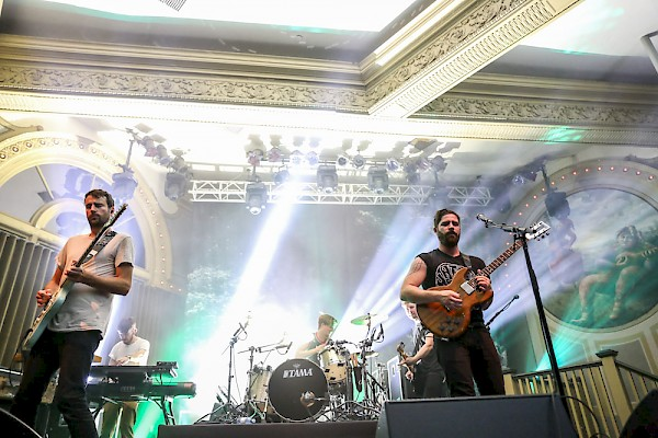 Foals at the Crystal Ballroom on September 24, 2016—click to see more photos by Sydnie Kobza