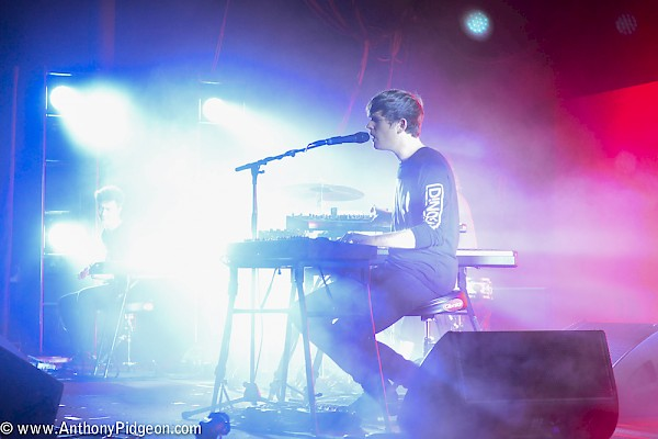 James Blake at the Roseland Theater on October 14—click to see more photos by Anthony Pidgeon