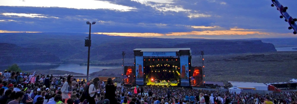 Sasquatch! Festival, Gorge Amphitheatre, photo by Chris Young