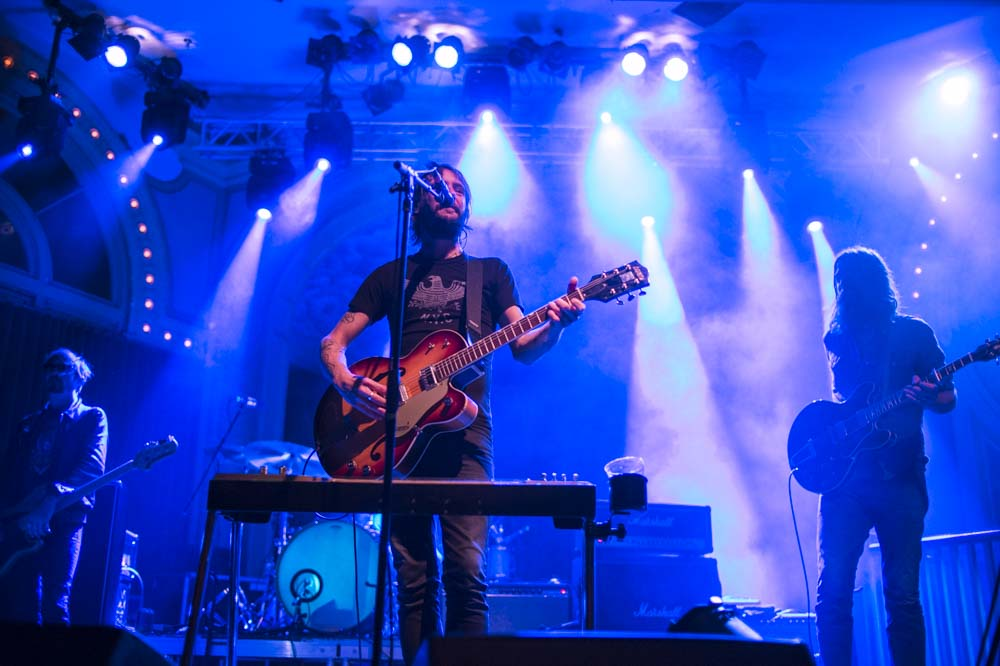 Band of Horses, Crystal Ballroom, 94.7 FM, photo by Jordan Sleeth