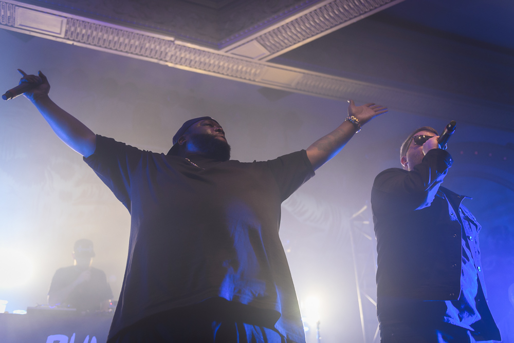 Run The Jewels, Crystal Ballroom, photo by Jeff Ryan