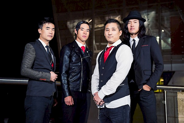 Simon Tam (left) and his Asian-American dance rock band The Slants have been in a trademark battle, one that made it all the way to the Supreme Court, for more than seven years: Photo by Sarah Giffrow