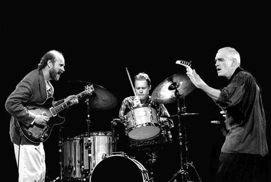 The John Scofield Trio (Scofield, BIll Stewart and Steve Swallow)