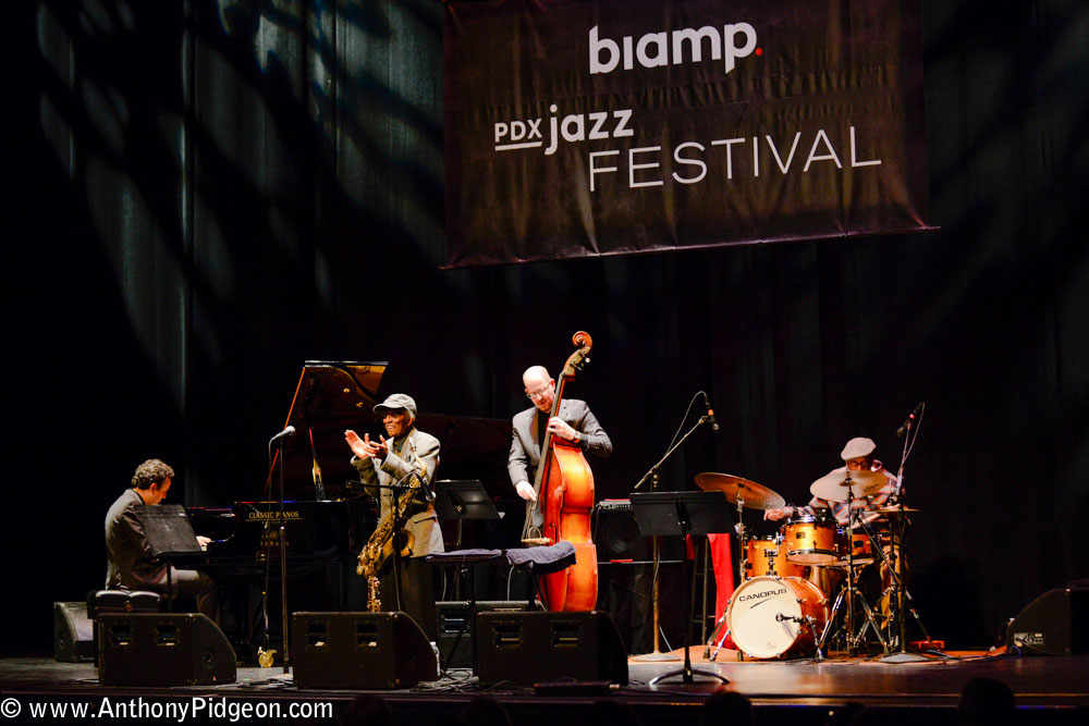 The Heath Brothers, PDX Jazz Festival, PDX Jazz, Newmark Theatre, photo by Anthony Pidgeon