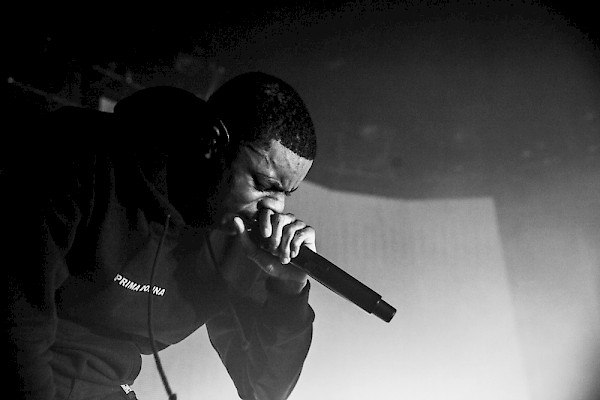 Vince Staples at the Roseland Theater on March 1—click to see more photos by Tojo Andrianarivo