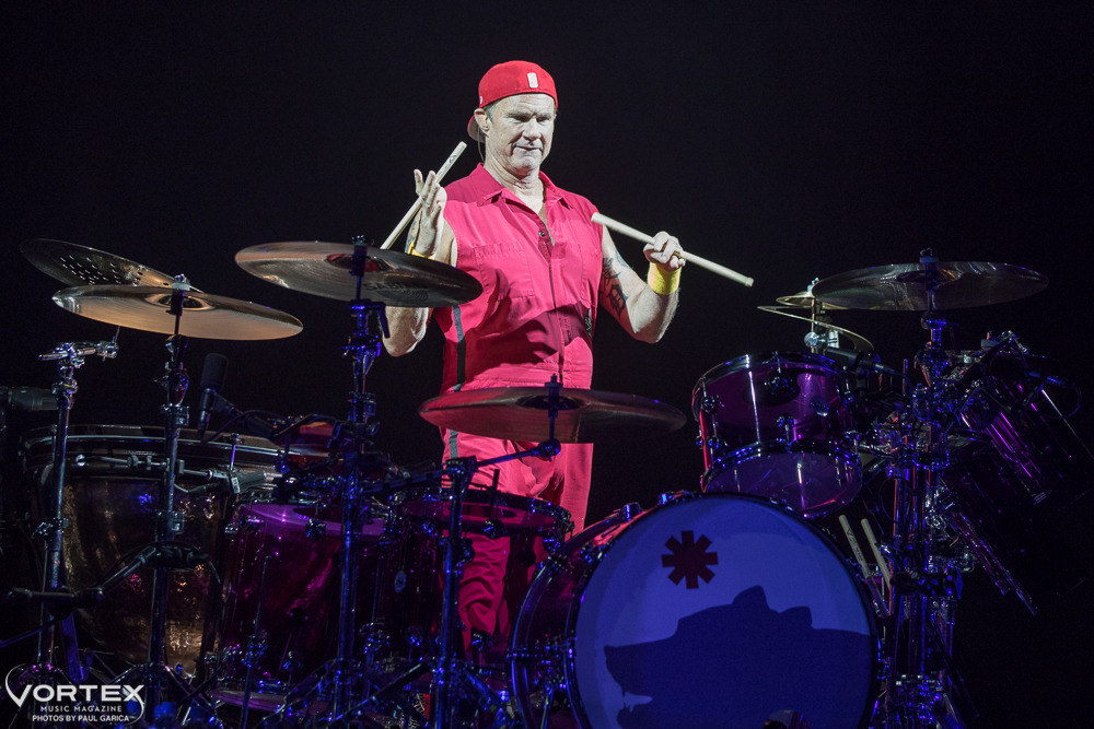 Red Hot Chili Peppers, Moda Center, Rose Quarter, photo by Paul Garcia