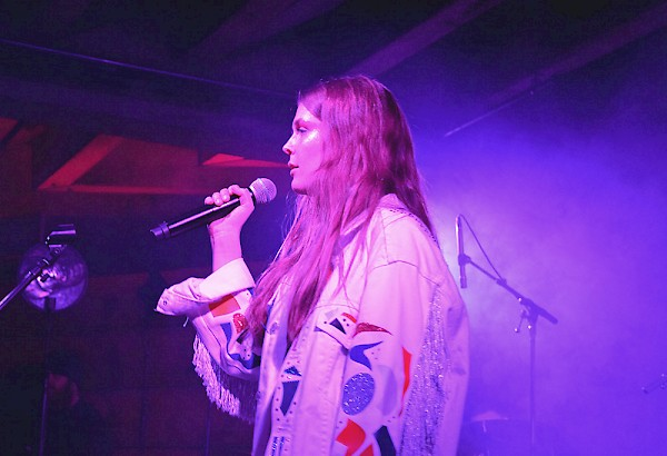 Maggie Rogers at the Doug Fir Lounge—click to see more photos by Carmen Kintz