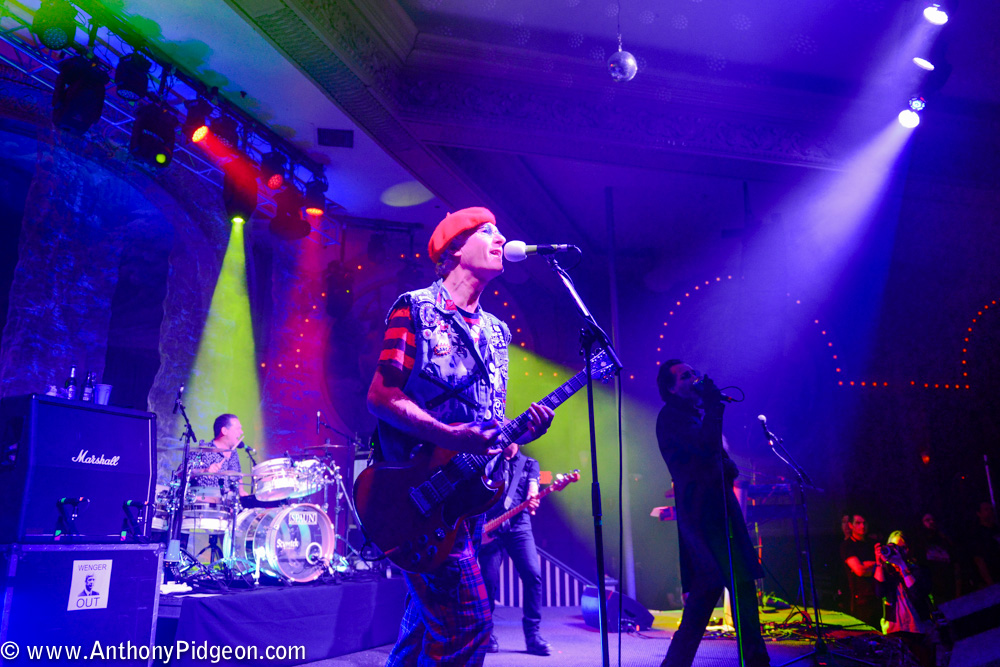 The Damned, Crystal Ballroom, photo by Anthony Pidgeon