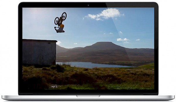 Danny MacAskill's Red Bull-sponsored video has almost 40 million views on YouTube and features a Loch Lomond song—watch the stunning vid below