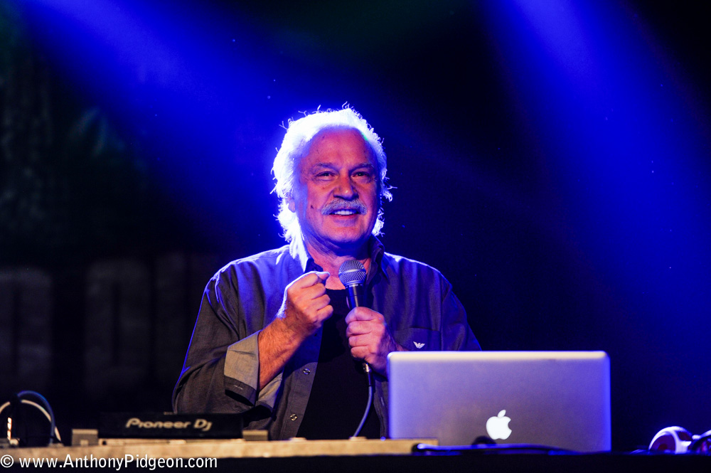 Giorgio Moroder, Roseland Theater, photo by Anthony Pidgeon